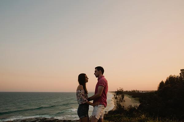 Louise & Lachlan // Sunshine Coast Engagement