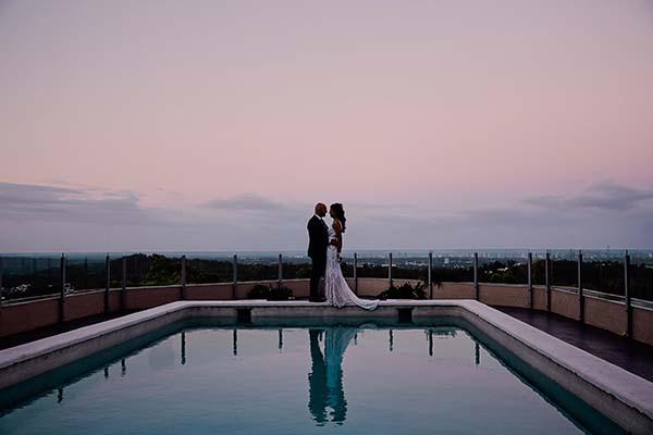 Richard and Selina's Mount Tamborine Wedding