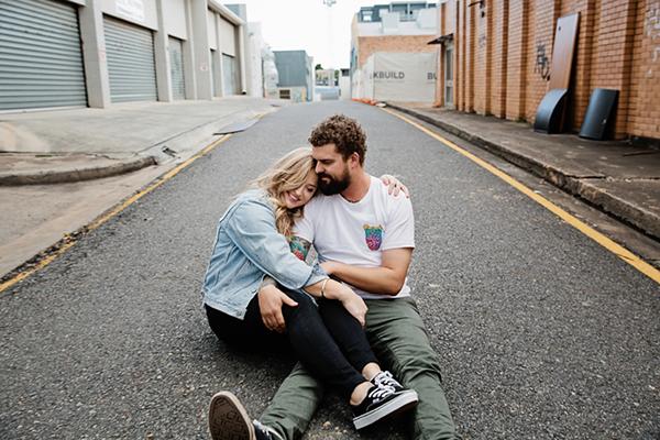 Jane & Alex // Brisbane Engagement Session